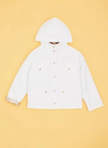 Tyess Tyess Beyaz Yağmurluk Beyaz